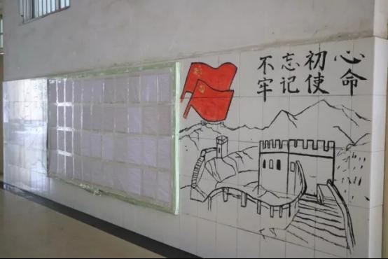 班级外墙图片手工制作图片